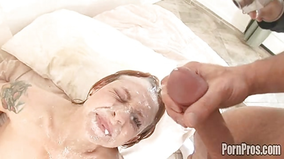 Scarlett pain cumshot surprise