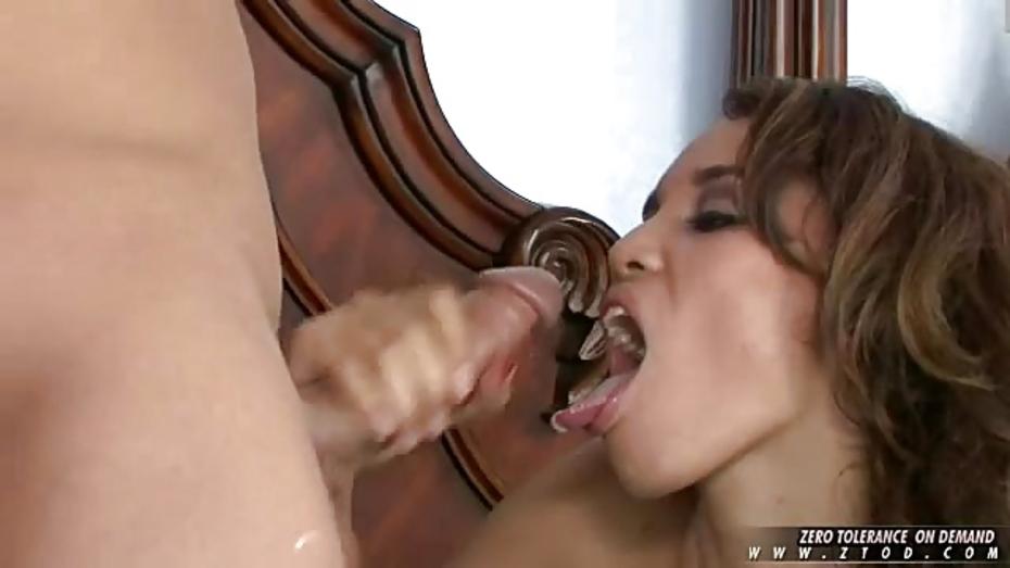 Renae cruz takes facial after slow fucking 10