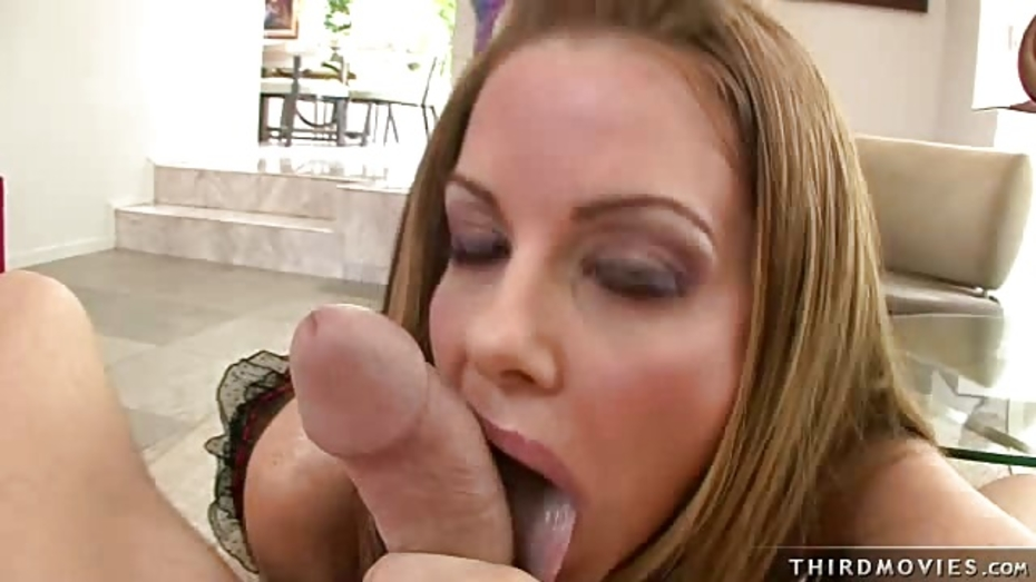 Big tited blowjob