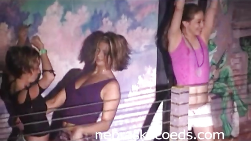 2003 retro spring break nudity on a public beach party girls 8
