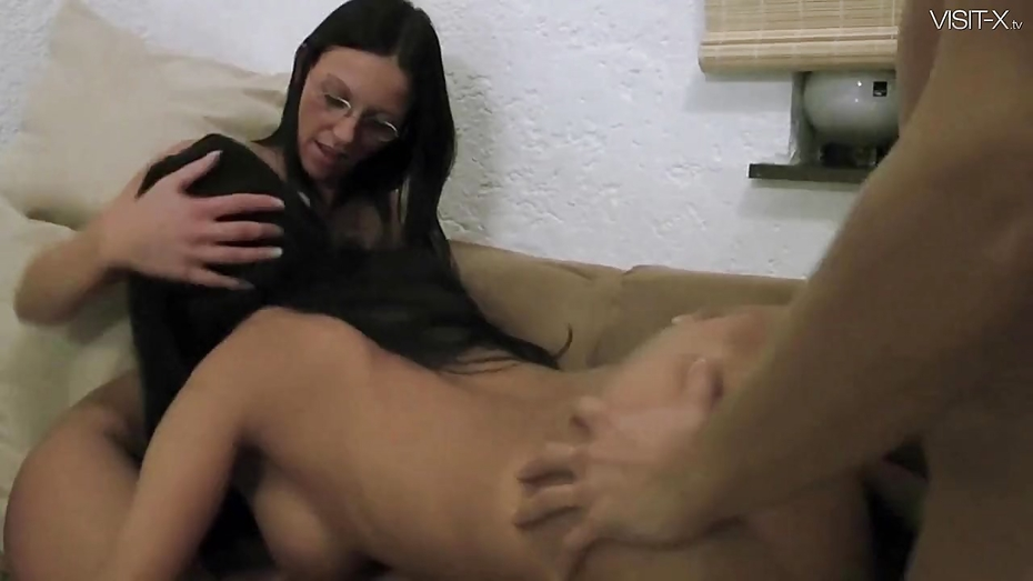 Sperm swap pounded pussies with massive cum swap for pretty 10