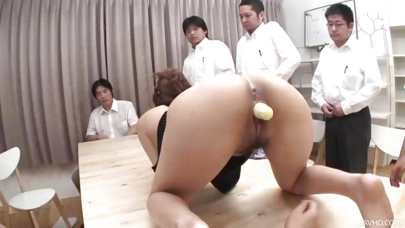 Office slut anna becomes the main topic at this sexy busines 8