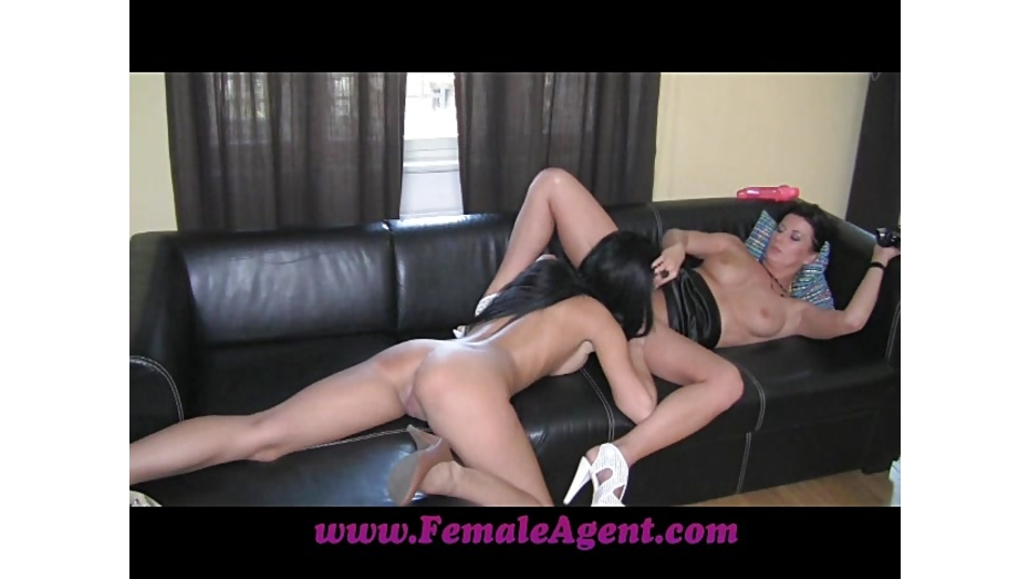 image Femaleagent big cock delivers creampie present after casting