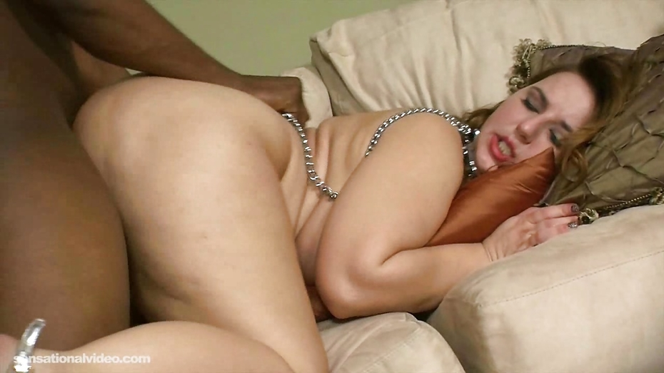 Busty milf fucked after gagging on cock 9