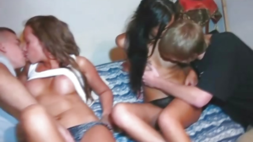 Teen first-time swingers