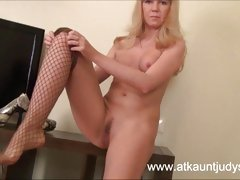 50yearold milf karolina strips out her gypsy flowing cloth 5