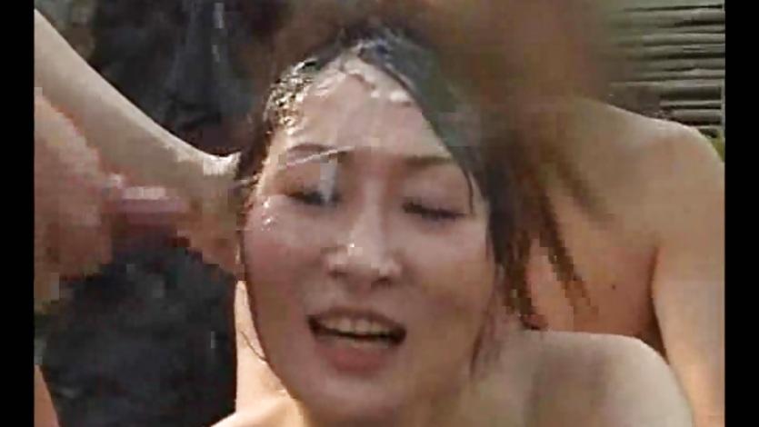 RCT-224 – Female Announcer Receives Cum Facials