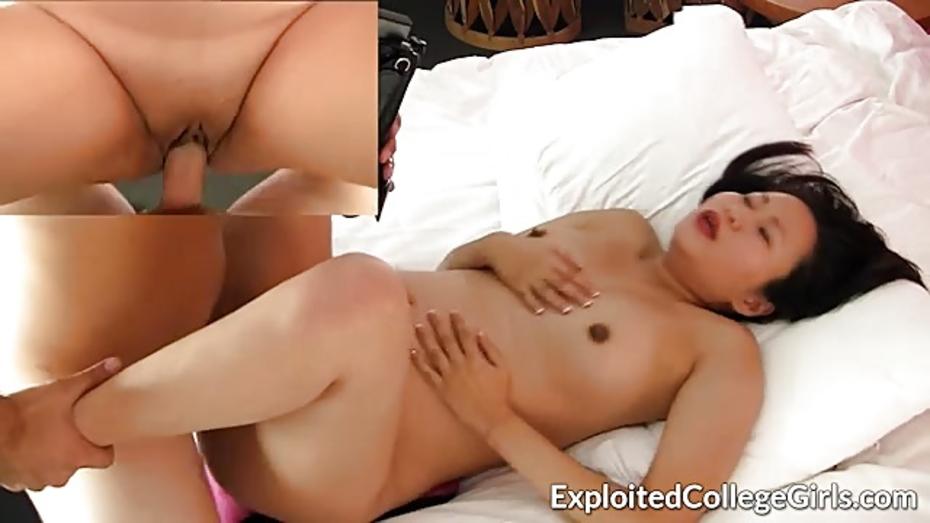 Skinny Asian Anal Creampie