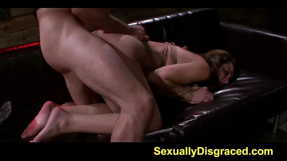 Tattoed sheena rose rough sex and orgasm denial punishment 7