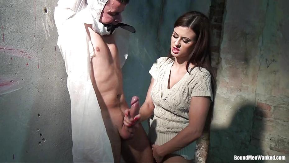 Bdsm handjob video, bunny costume nude