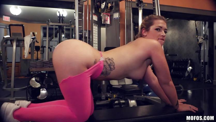 doggystyle porn gym