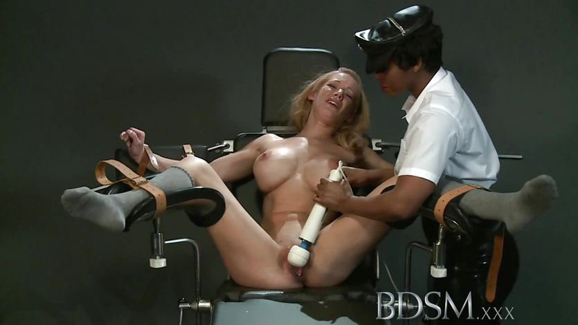 Bdsm xxx innocent subs are slapped up tied up and fucked up 2