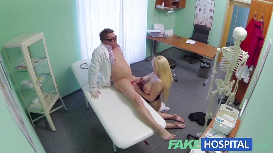 image Fakehospital minx sucks and fucks to get a job