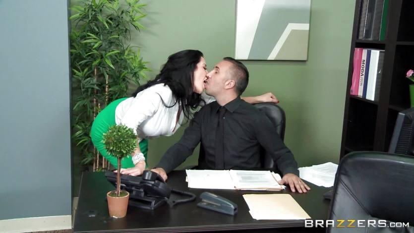 Big Titted Boss 65