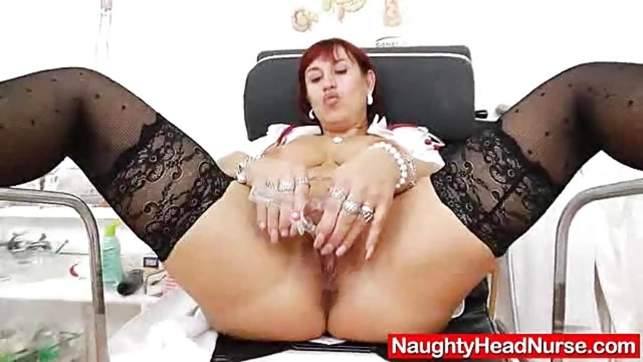 Iva gets plenty pervy as the head nurse 2