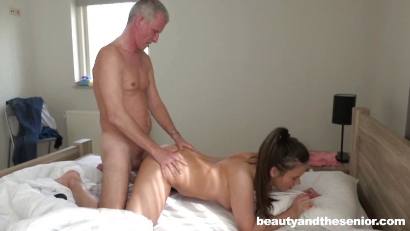 beauty and senior fuck