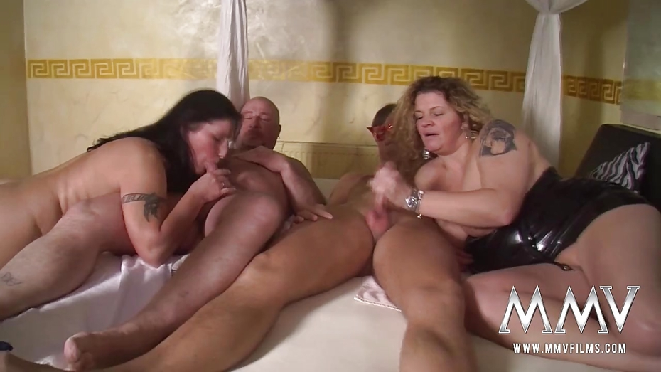Amateur Foursome Filmed