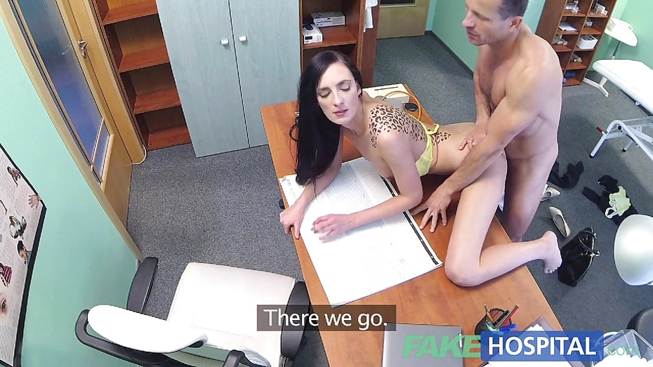 Fakehospital new doctor gets horny milf naked and wet 2