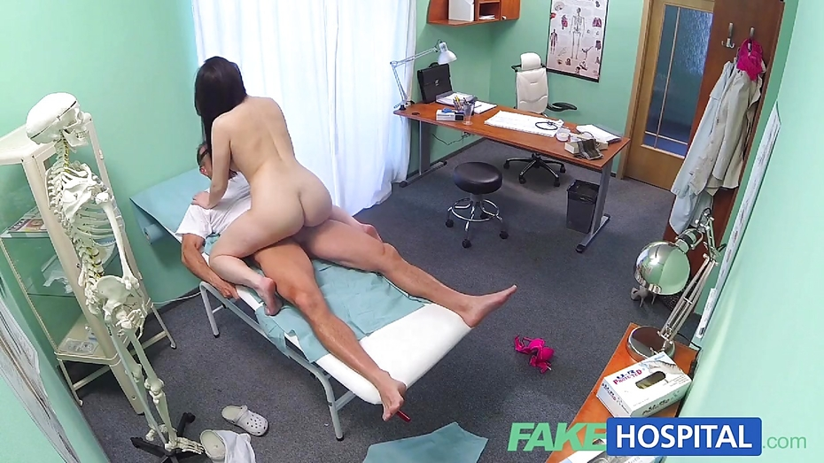 Fakehospital tight hot wet patient moans with pleasure Part 6