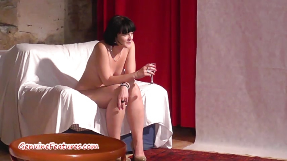Sexy 18yo blondie shows her body at the first casting 7