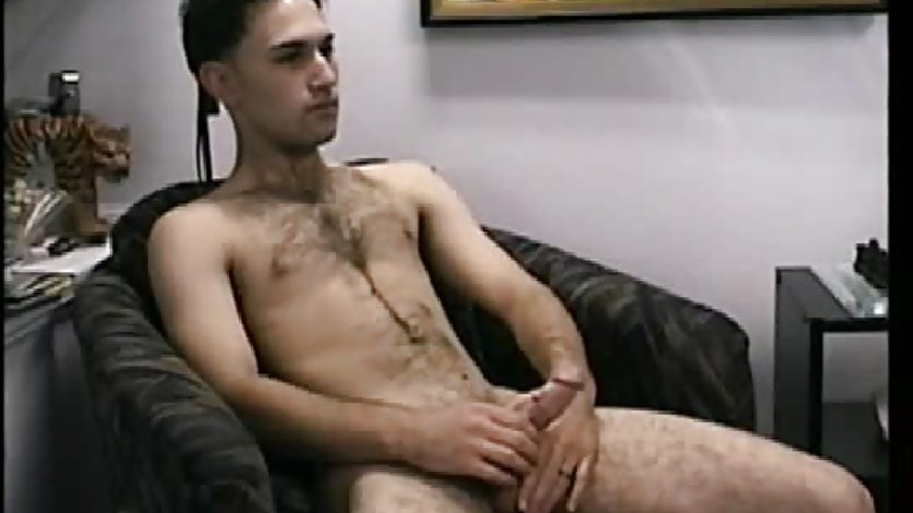 Masturbating straight sucked off by gay