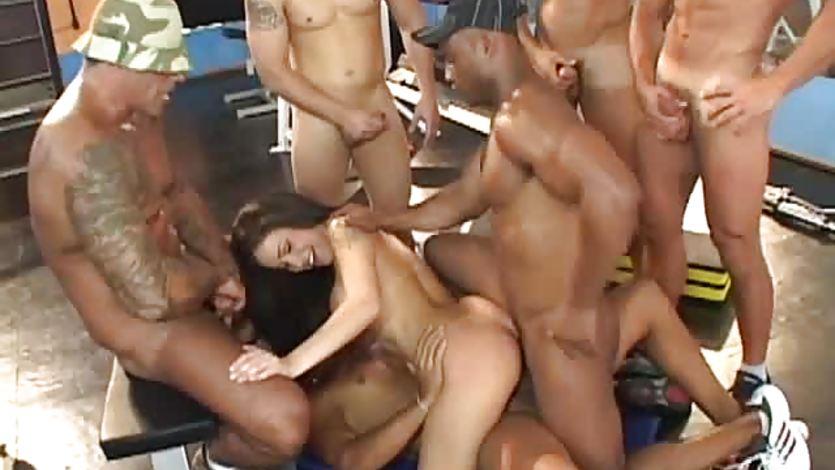 Brazilian Gangbang