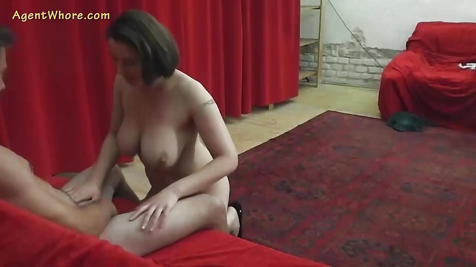 image 19yo czech amateur does strip and handjob for porn producer