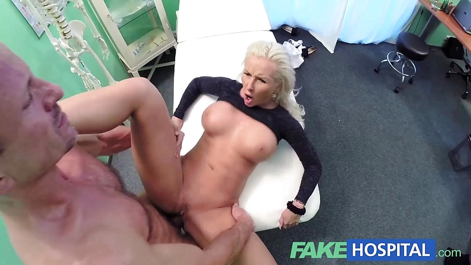 Fakehospital tight hot wet patient moans with pleasure 6