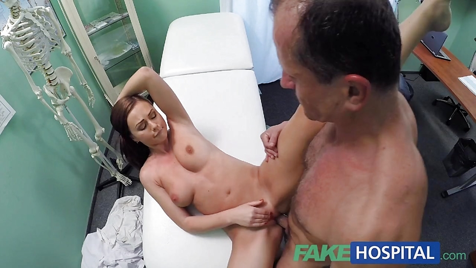 Fakehospital horny student gets a good fucking from doctor 3