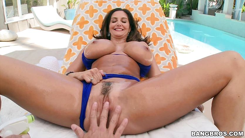 Big breasted Ava Addams getting ass fucked