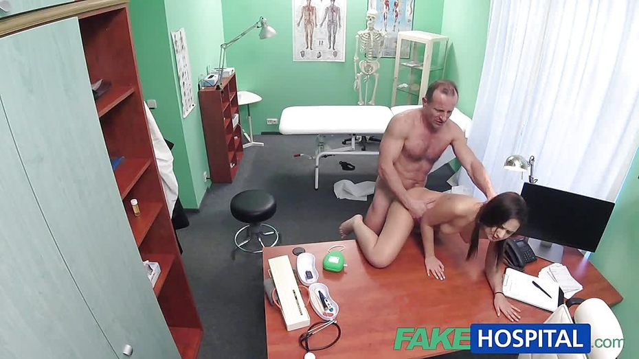 Fakehospital sexy patients moans of pleasure lowers 9