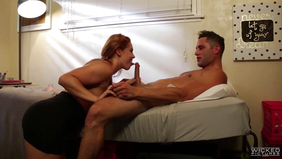 <i>His Aunt Gives Him A Massage And Fuck</i>