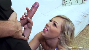 Blonde Zoey Monroe Is Home Alone And Craving Cock