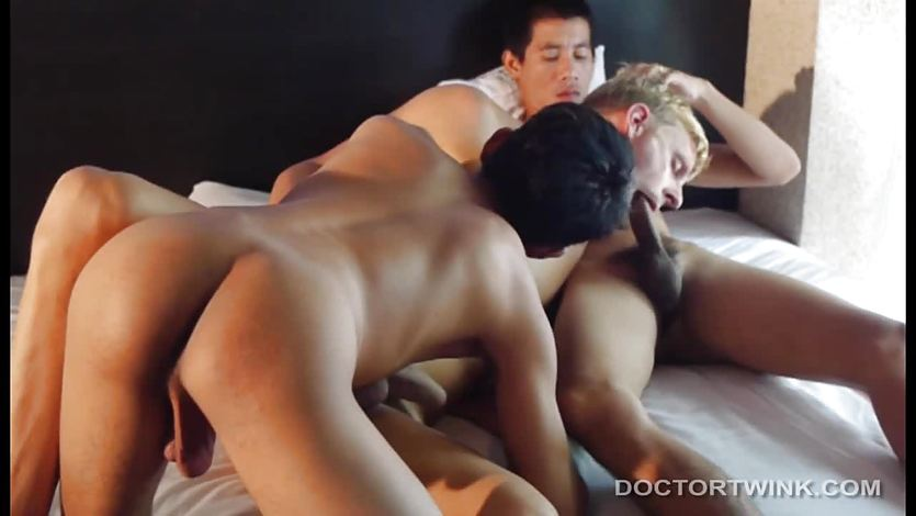 Asian Twinks Medical Fetish Barebacking