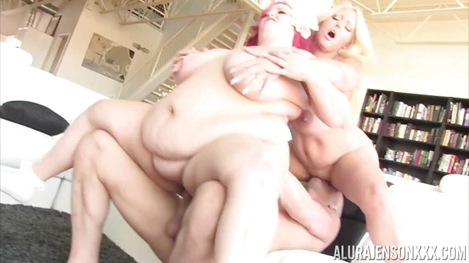 Fatty eliza allure taked 2 dicks in her pussy 3