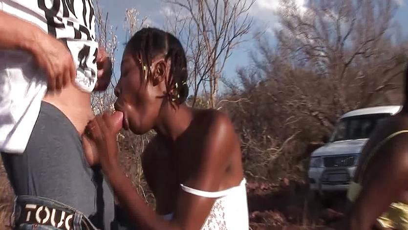 African groupsex safari orgy 2