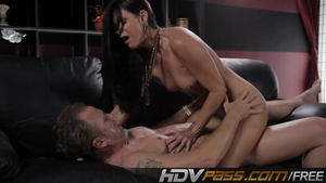 Brunette Dick India Summer Fucking With Passion In The Living Room