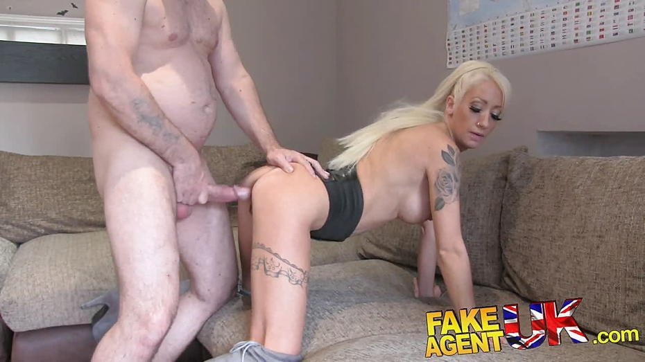 Fakeagentuk hot wet pussy and sexual moans 10