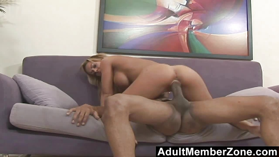 Adultmemberzone hot blonde goes crazy for a big black cock 3