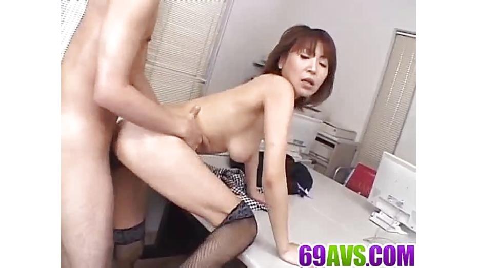 Miriya hazuki reaches orgasm during nasty asian threesome 1