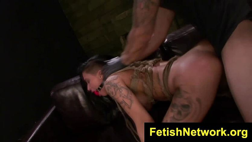 Fetishnetwork alby rydes at fuck machine with esmi lee 10