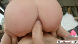 Inside A Pretty Leon Gets Her Dense Ass, Filled With A Cock