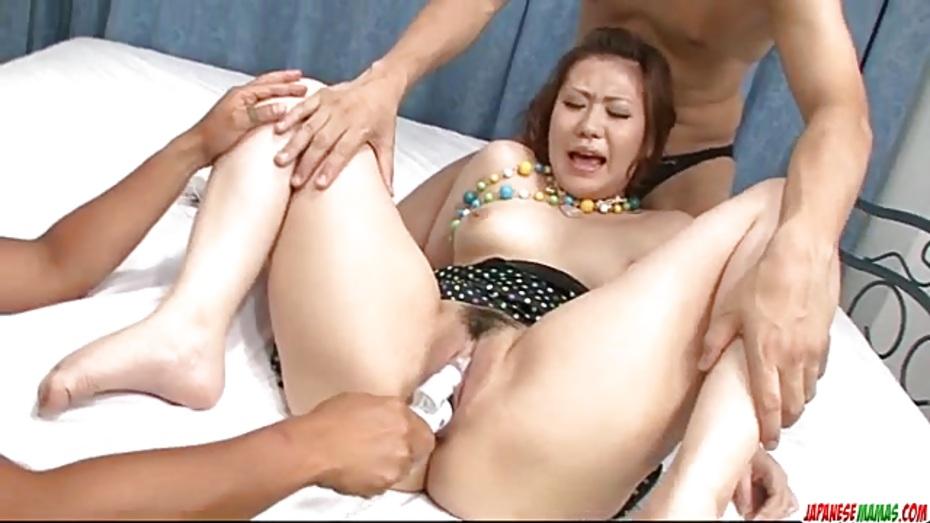 Mio hiragi adorable asian porn in steamy modes 1