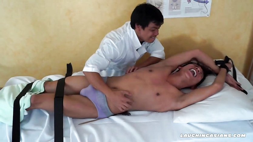 Tickle Therapy For Asian Boy Rave