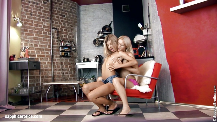 Cards well played lesbian scene with annie wolf and coco de mal by sapphix 3