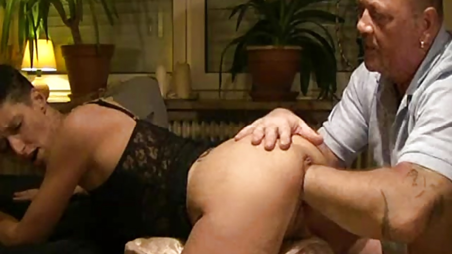 Fisting his girlfriends greedy gaping ass hole 9