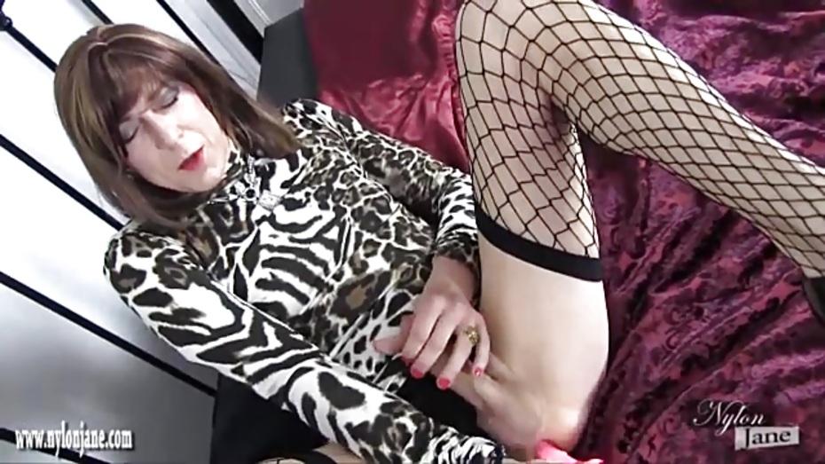 image Tranny tamara jacks her cock for you
