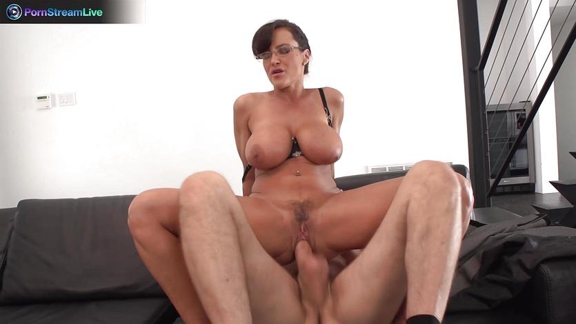 порно лиза энн и большой болт