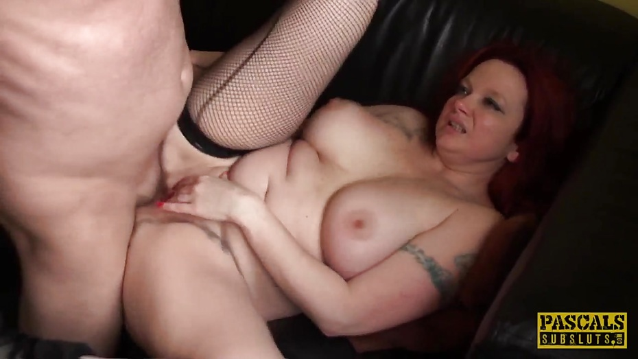 Inked uk skank railed rough in ass by maledom 5