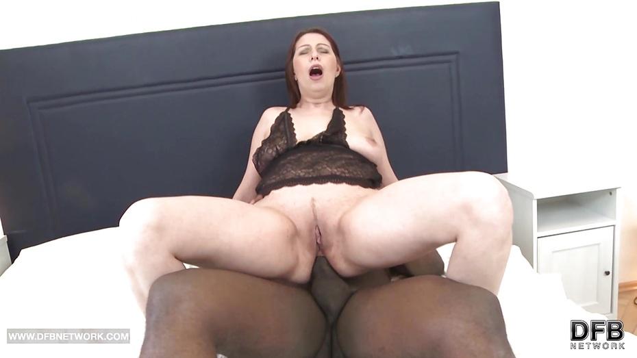 Chubby creampied woman